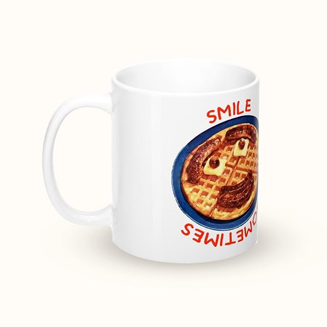 """Smile mug""  Available on the web store"