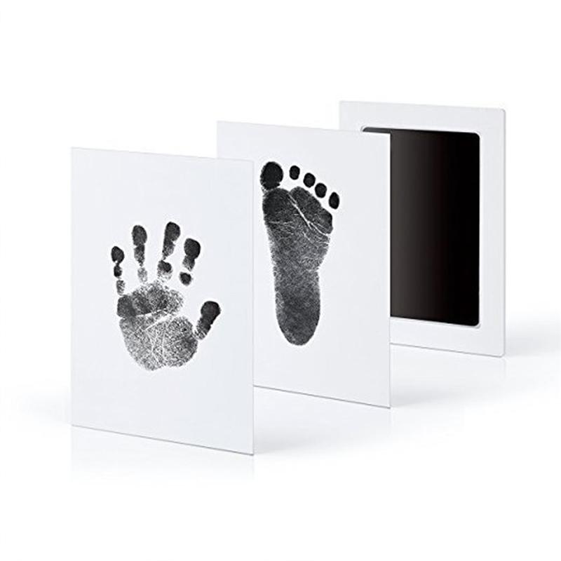 Baby Hand En Voetafdrukjes Maken Zonder Knoeien Met Dit