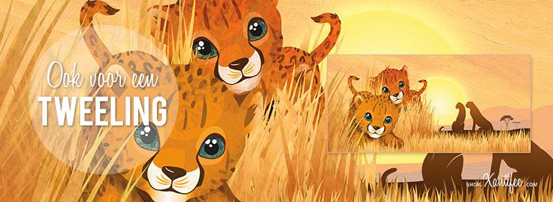 second-image-tweeling-geboortekaartje-amber-leeuw-afrika-cheetah.jpg