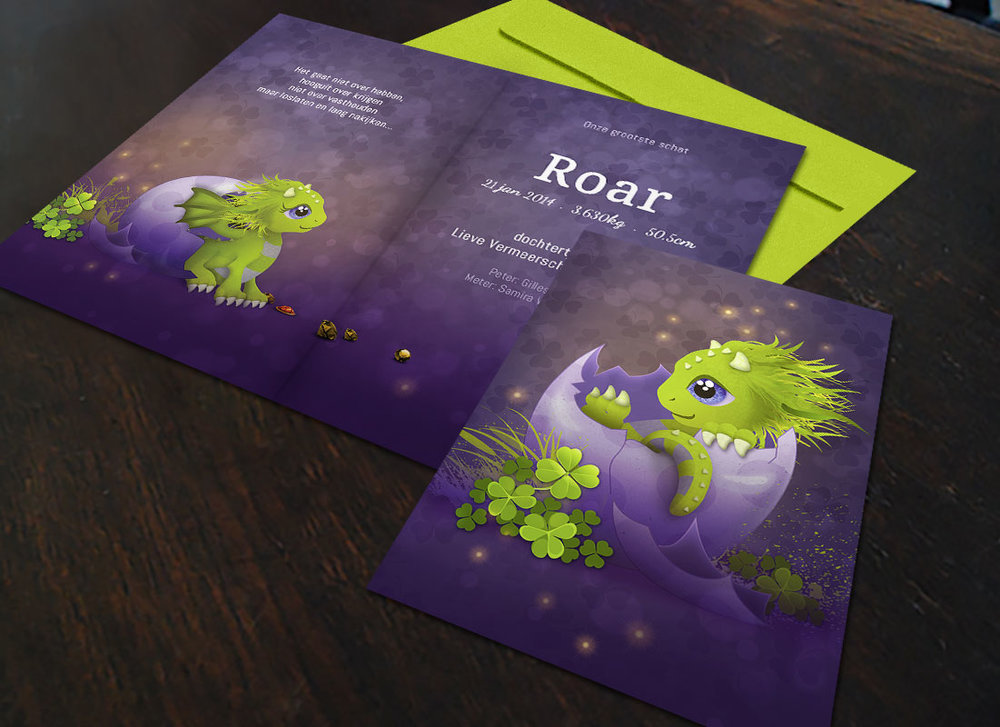 first-image-Roar-geboortekaartje-draakje-sprookje-ei-paar-groen-baby-by-xantifee.jpg