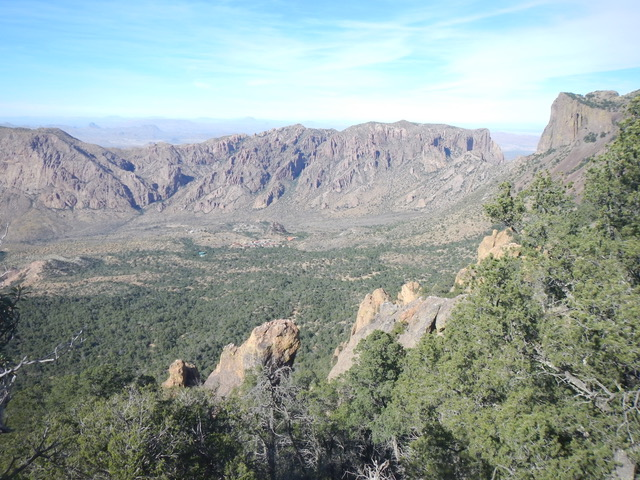 Valley from Chisos summit