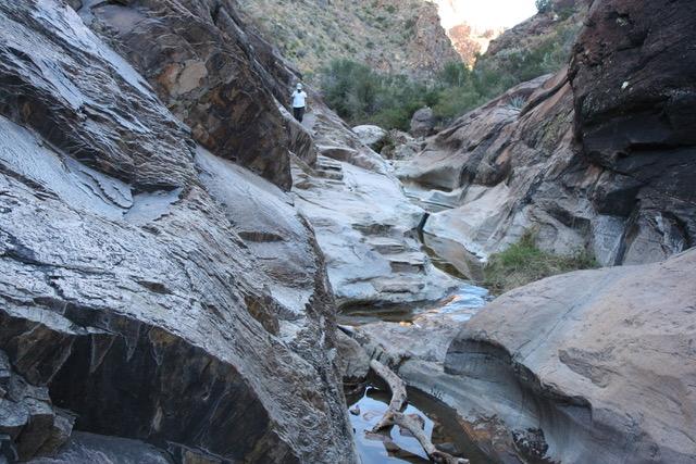 G rocky trail