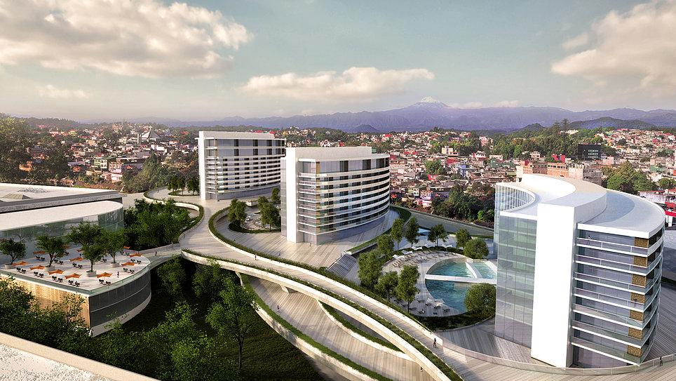 ARCHITECTURAL CONCEPT RESIDENTIAL/CONDOMINIUM, MEXICO
