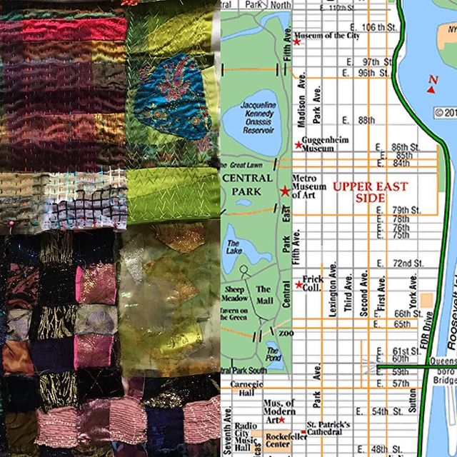 Are you passionate about where #quilts and #maps intersect? . Are you a person who paints, with an interest in the effects of manifest destiny? . Are you an #American #maker? . Look no further! We have the Artist Residency for you! Join the #MakeAmericaProject Artist Residency Program, traveling through your region of #America August-September 2018! . The Residency invitation to collaborate is at our website: makeamericaproject.com Please don't hesitate to dm us with questions! We are so looking forward to becoming acquainted with you and your work. Let's #makeamerica together. . . . . #makeamericalove #makeamericadream #makeamericacreative #makeamericakind . NYC homeland quilt credits: @daunfallon @adriennecarlile @ilana_makes_stuff