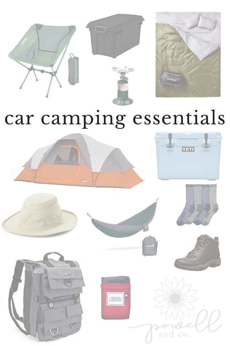 car camping essentials