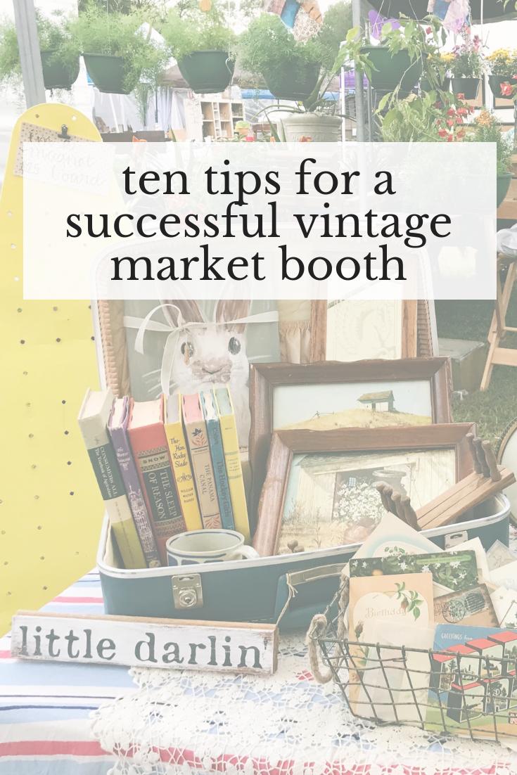 vintage market booth