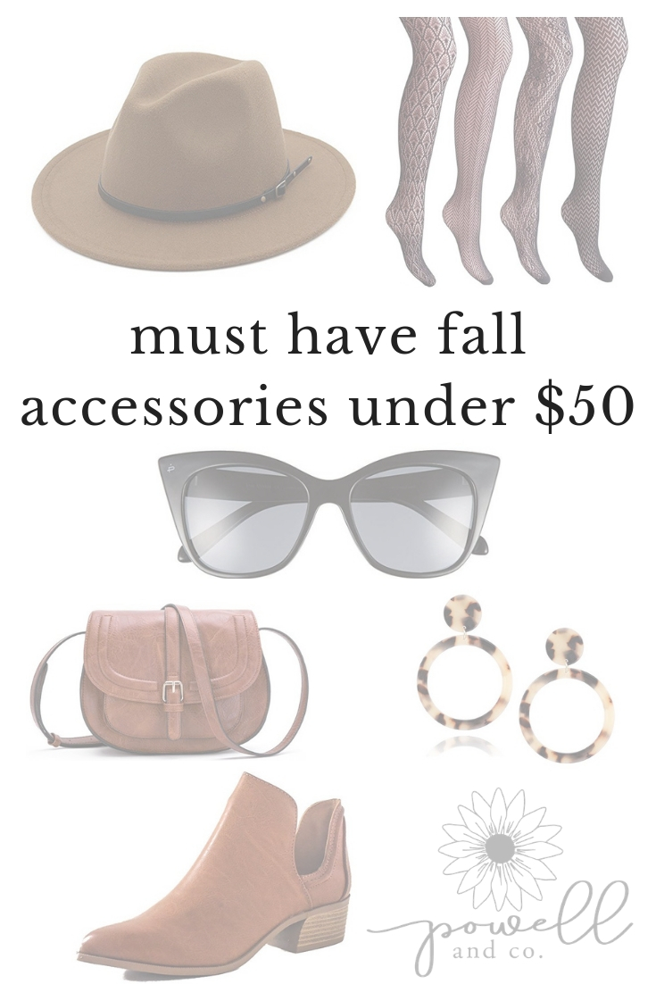 Must Have Fall Accessories Under $50