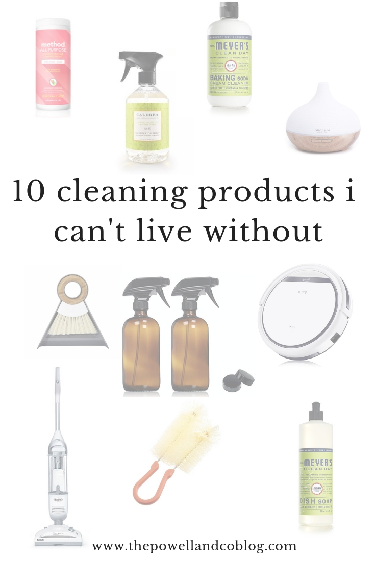 ten cleaning products i cannot live without