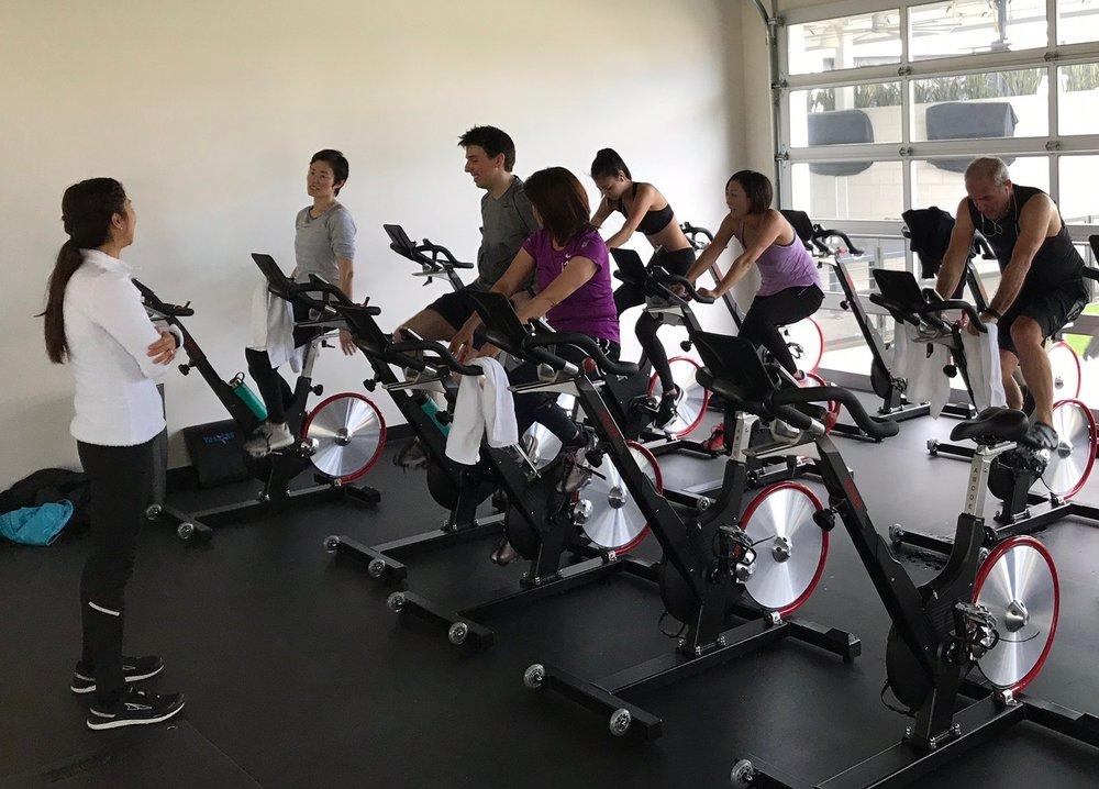 運動時の血糖値変化を体験するワークショップ参加者の皆さんと