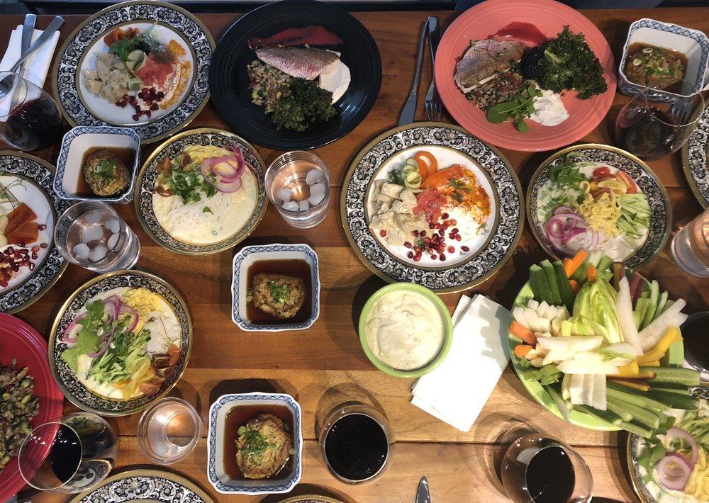 Healthy gut dinner class in 2017