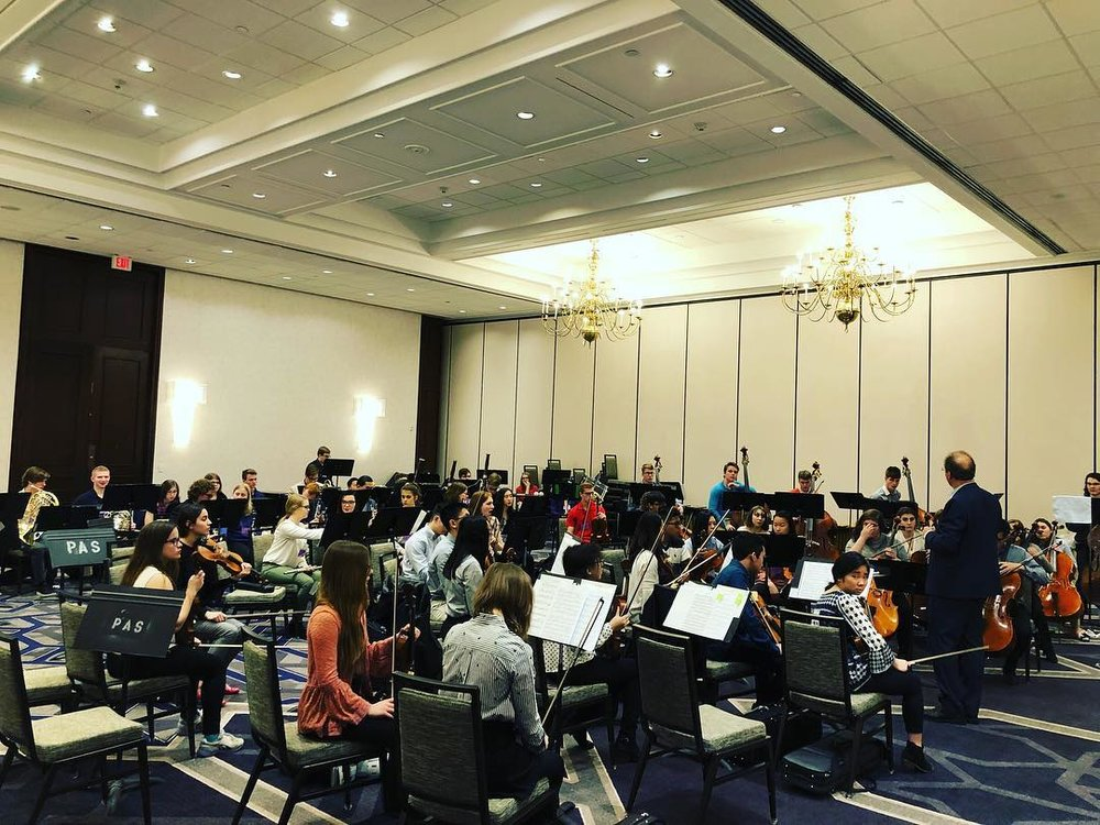 Hanford High School Symphony Orchestra, Indianapolis, Indiana- 2018