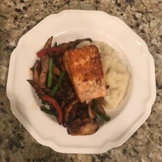 picture....salmon with cauliflower mash.jpg