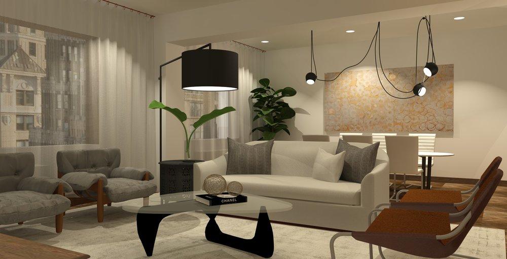 Urban Apartment Sam Soto Designs