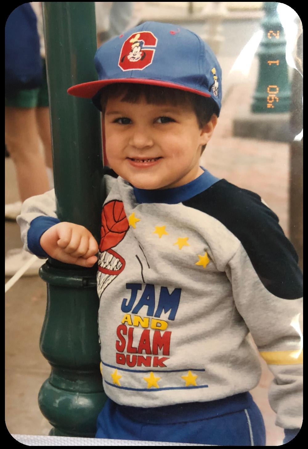 Chris, Age 4