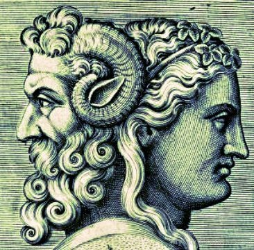 Like Janus, one of our freaky ancient gods.