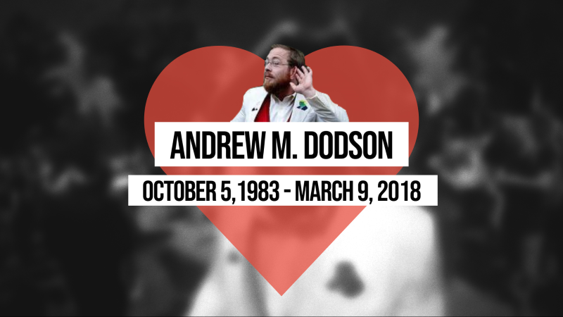 His name was Andrew Dodson.
