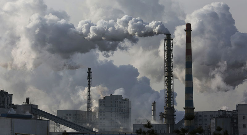 How will giving money to China to build coal factories help the environment? Science™!