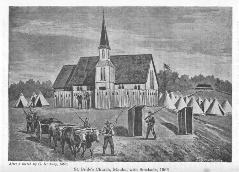 Saint Bride's Church stockade, Mauku