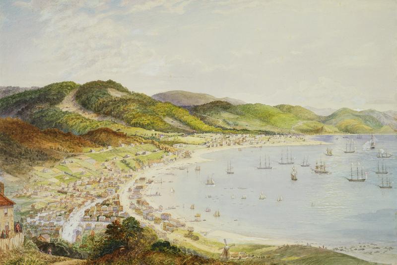 Wellington in 1858