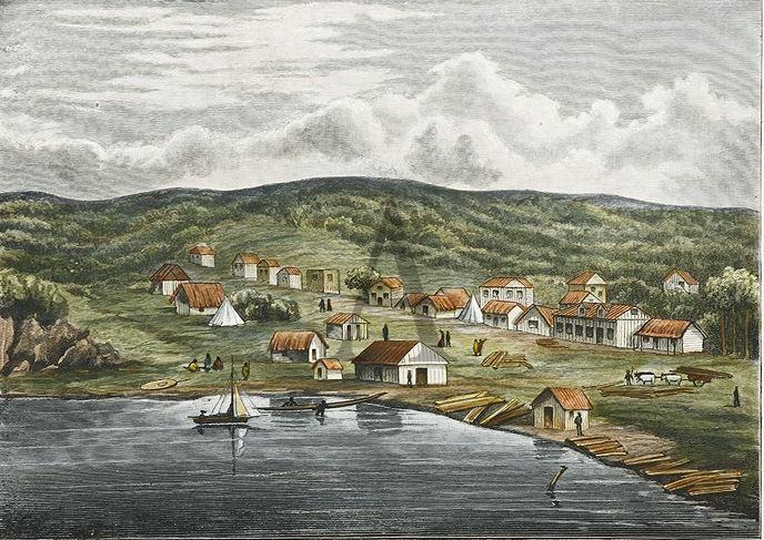 Shortland Street in 1841