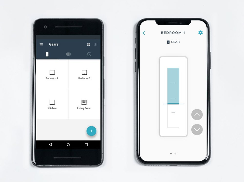 App control - Control your shades right from your phone. Lower your shades to shut out the glare, or open them up to enjoy the view. Whether you have a sleeping baby in your arms, you're hard at work, or simply want to impress your guests, your shade control is just a tap away.