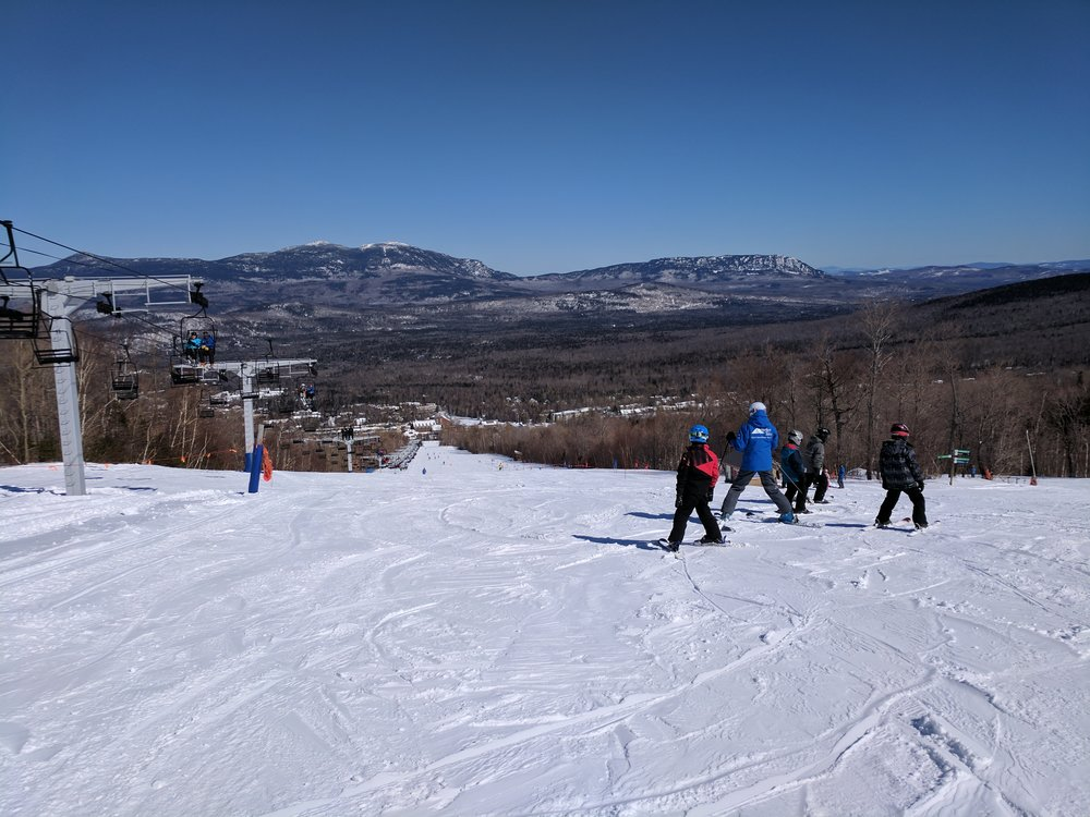 Family first - Whether it's rentals, lessons, miles of beginner trails, a variety of options for eating, child care, bowling, board games at the hostel, or any other amenities, Sugarloaf is a family friendly mountain. Come have an amazing experience they won't forget!