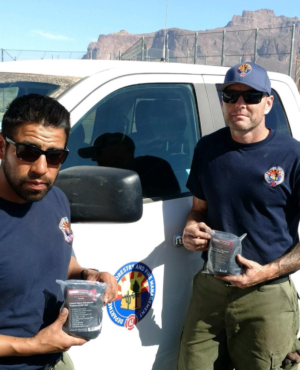 Phoenix Crew with Advanced Trauma Kits