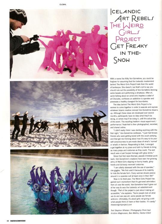 Dazed and Confused magazine, UK, 2010