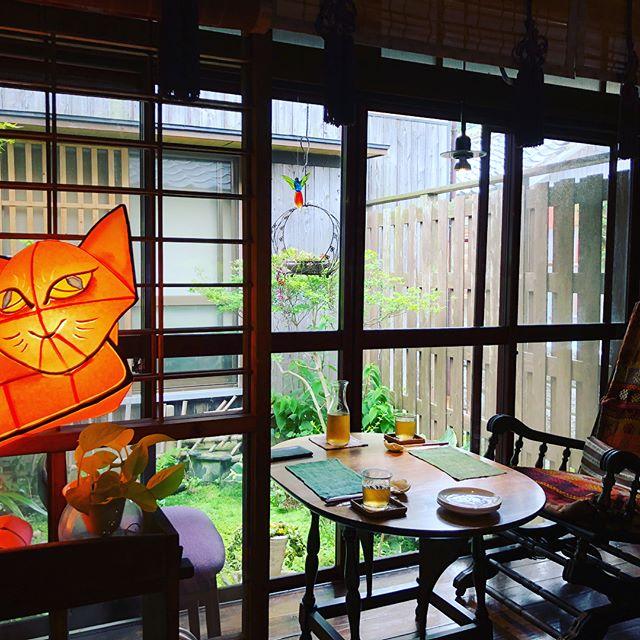 先日行った福岡・糸島で お友達に連れて行ってもらった 漁港にある古民家カフェ #kibisuyashiki #踵屋敷 (きびすやしき)  ここは幻想カラクリ異空間。 時間の流れが違います。 干物ランチの美味しかったこと! またまたほっこり癒される場所でした