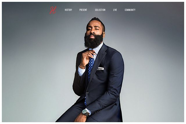 In 2015, I had the pleasure of building the official website of James Harden (@jharden13). The whole website's design and development was executed with precision, launched on the eve of that year's NBA All-Star Game, including a live video feed for James Harden's fans.