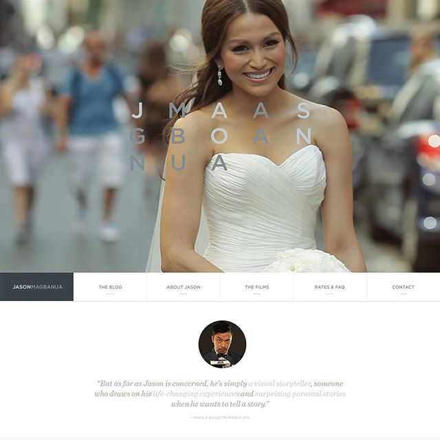 @JasonMagbanua approached me in 2012 to build their desktop and mobile website.