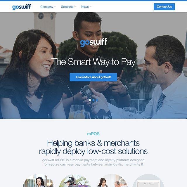 GoSwiff approached me in 2014 to rebrand, and redesign their website and branding materials.