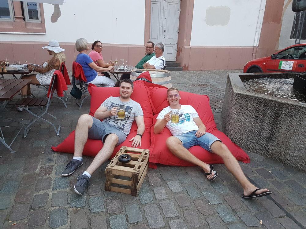 Fünf Bäuerlein - Lazy Bags