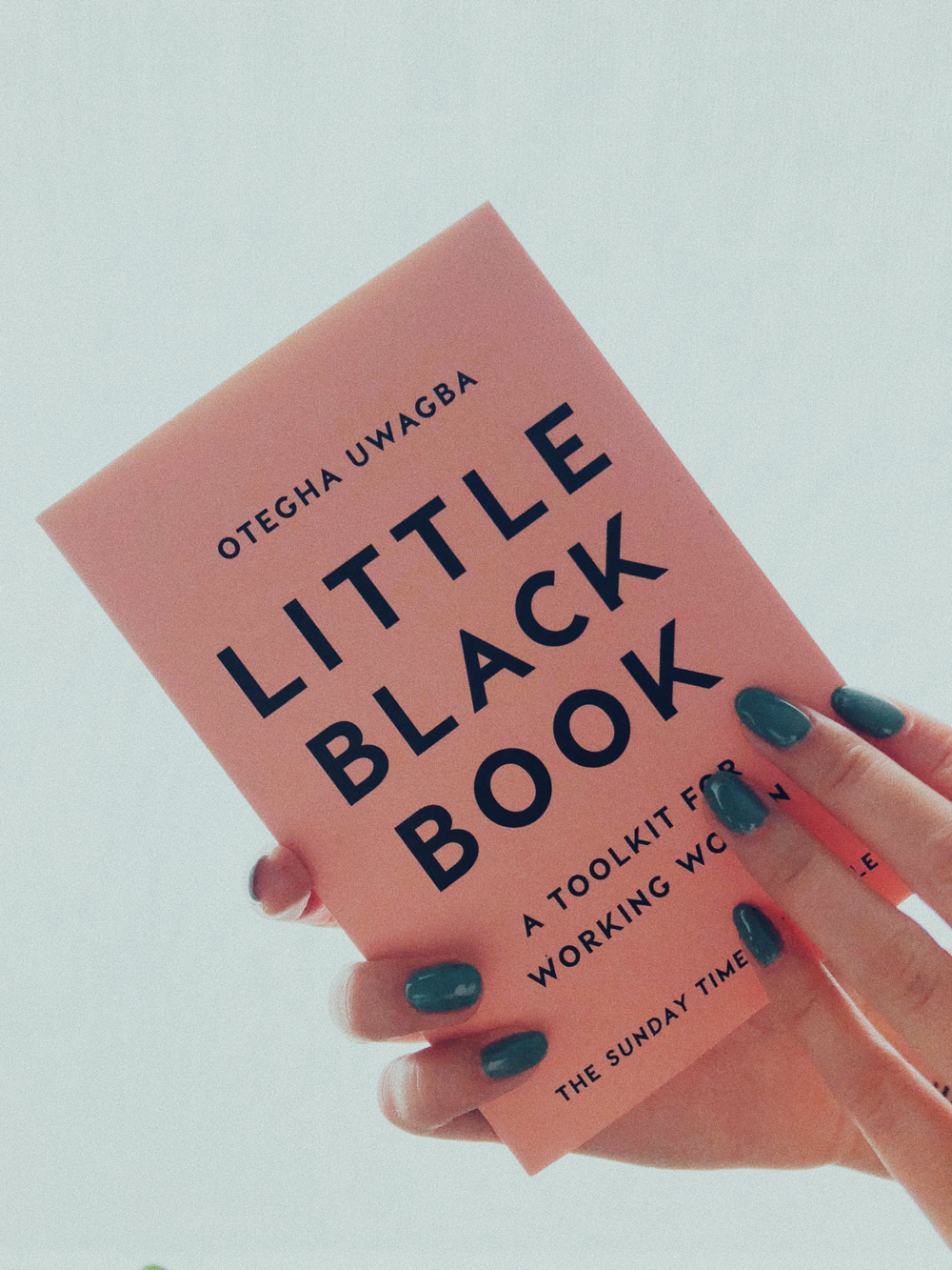 "I LOVED THIS READ! ""  LITTLE BLACK BOOK  "" HAS SO MANY GOOD TIPS FOR GIRLS WHO ARE SERIOUS ABOUT THEIR CAREERS - LET IT BE SPEAKING IN PUBLIC OR THE ART OF NETWORKING, OTEGHA UWAGBA GOT YOU COVERED. - J"