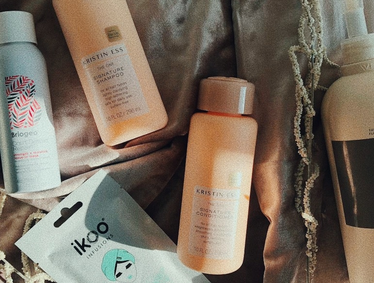 CURRENT HAIRCARE FAVS - STUFF WE LOVE FOR OUR FLAT TO WAVY HAIR.
