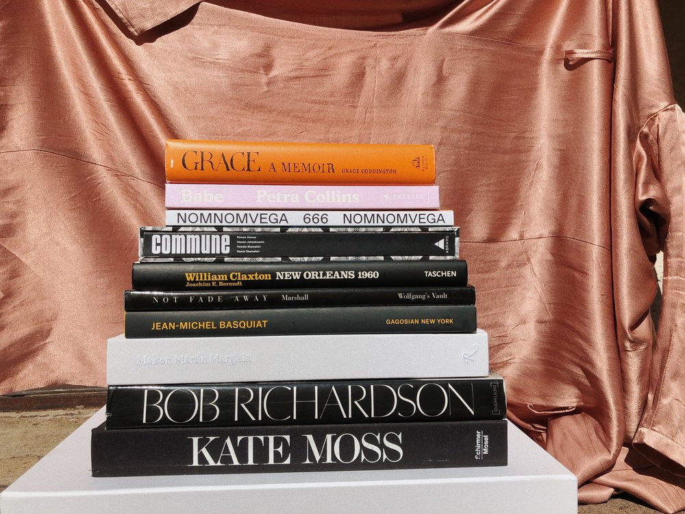 CURRENTLY ON OUR COFFEE TABLE - BIG BOOKS WE CAN'T GET ENOUGH OF.