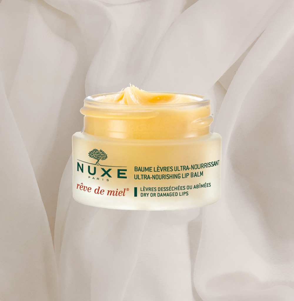 THIS ONE IS A CLASSIC FOR A REASON! THE   NUXE REVE DE MIEL   IS SUCH A GOOD STAPLE LIP BALM, IT JUST WORKS AND YOU CAN GET IT AT ANY PHARMACY. ALSO: IF IT'S A BIT GRAINY, JUST PUT IT IN THE MICROWAVE FOR A FEW SECONDS AND IT'LL BE SUPER SMOOTH AGAIN. - T