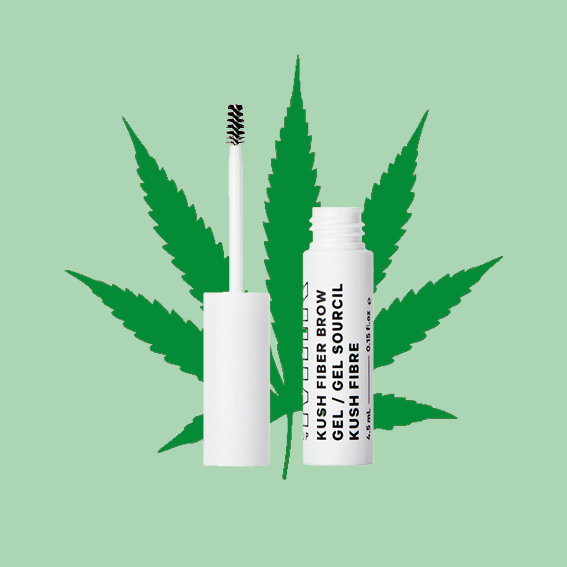 THE BRAND MILK IS 100% VEGAN, SO FOR THEIR GRIP THEZ NEEDED FOR THEIR    KUSH FIBER BROW GEL   THEY WENT ON TO USE HEMP DERIVED CANNABIS OIL INSTEAD OF BEESWAX. THE CANNABIS OI IS NOURISHING, SETTING, AND INSTANTLY DEFINES YOUR BROWS! HOW DOPE IS THAT? - T