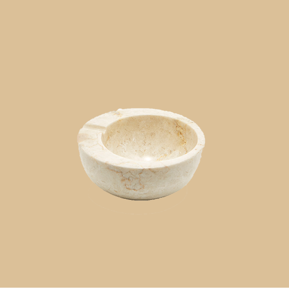 I DON'T SMOKE CIGARETTES (ONLY WHEN REALLY DRUNK LOL) BUT LOOK AT THIS MARBLE   ASHTRAY  ! IT'S SO BEAUTIFUL AND THE PRICE IS SIMPLY AMAZING. THE SHADE OF THE STONE IS THE PERFECT WARM BEIGE, WHICH MAKES IT FEEL SUPER ORGANIC - I ABSOLUTELY ADORE IT. - J
