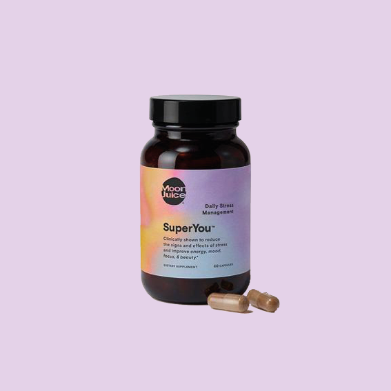 NO ONE LIKES STRESSED OUT BABES. THEREFORE THIS IS A LITTLE HELPER THAT IS SIMPLY PUT THE ONLY ONE YOU NEED. THE   SUPERYOU DAILY STRESS MANAGEMENT FROM MOON JUICE   IS THE VERY BEST. I LOVE IT. THIS DOESN'T GIVE YOU A FULLY ZEN/CHILLED OUT VIBE BUT RATHER MORE FOCUS, ENERGY AND REGULATES YOUR CORTISOL LEVELS. THE PLANT SOURCED STRESS RELIEF IS A BLEND OF FOUR POTENT ADAPTOGENIC HERBS THAT HELPS TO REDUCE MENTAL, PHYSICAL AND EMOTIONAL FATIGUE AND HELPS TO CONTROL STRESS RELATED WEIGHT GAIN. ADAPTOGENICS YOU ASKED? ADAPTOGENS ARE HERBAL PHARMACEUTICALS. THEY WORK TO COUNTERACT THE EFFECTS OF STRESS IN THE BODY. THIS IS MY ABSOLUTE FAVORITE. I HAVE TRIED MY SHARE OF STRESS RELIEFS HELPERS AND THIS ONE IS IT.  -T