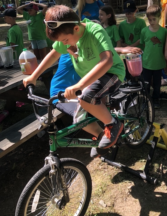 The Smoothies bikes have travel all over Southern WV. They have been in schools, conferences, scout day camp and the farmer's Market.