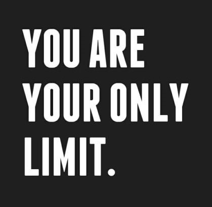 you are stronger than you think, smarter than you can image and more brilliant that you give yourself credit for. get out of your own head with limiting beliefs and aspirations.