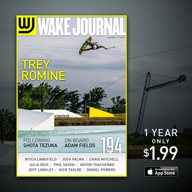 The cover of Wake Journal #194