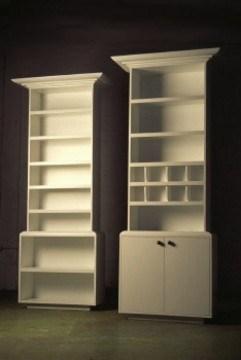 Tall bookshelf cabinets