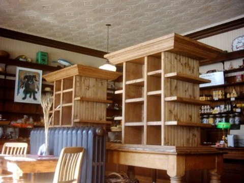 Product display cabinets: Lahave Bakery