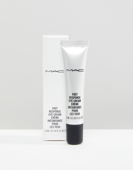 FAST RESPONSE EYE CREAM - A super-charged, caffeinated cream that produces instant effects. Skin around the eye feels tighter. Special optical diffusers diminish the appearance of fine lines and dark circles.WHAT IT IS:A caffeinated cream that de-puffs, firms and erases dark circles and fine lines.HOW TO USE:Dab a small amount of product on a fingertip and pat gently onto freshly cleansed eye area.HydratingReduces appearance of fine lines and wrinklesReduces appearance of dark circles