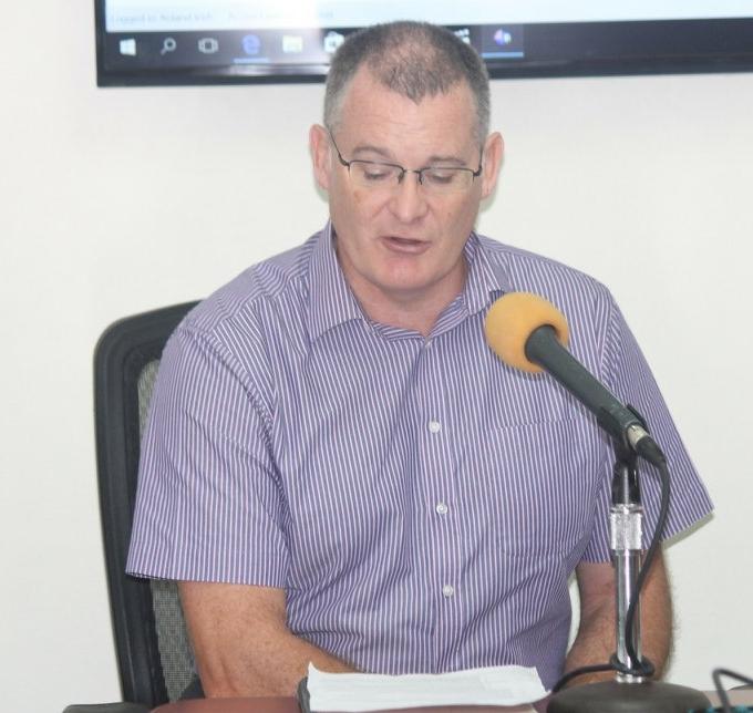 Financial Secretary, Collin Owen