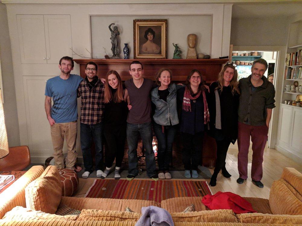 From left: Henry Walters, Adar Cohen, Nora Fiffer, Braeden Hatfield, Laura Carden, Michelle Russell, Erin Sweeney, Jason Lambert, and Jazimina MacNeil.