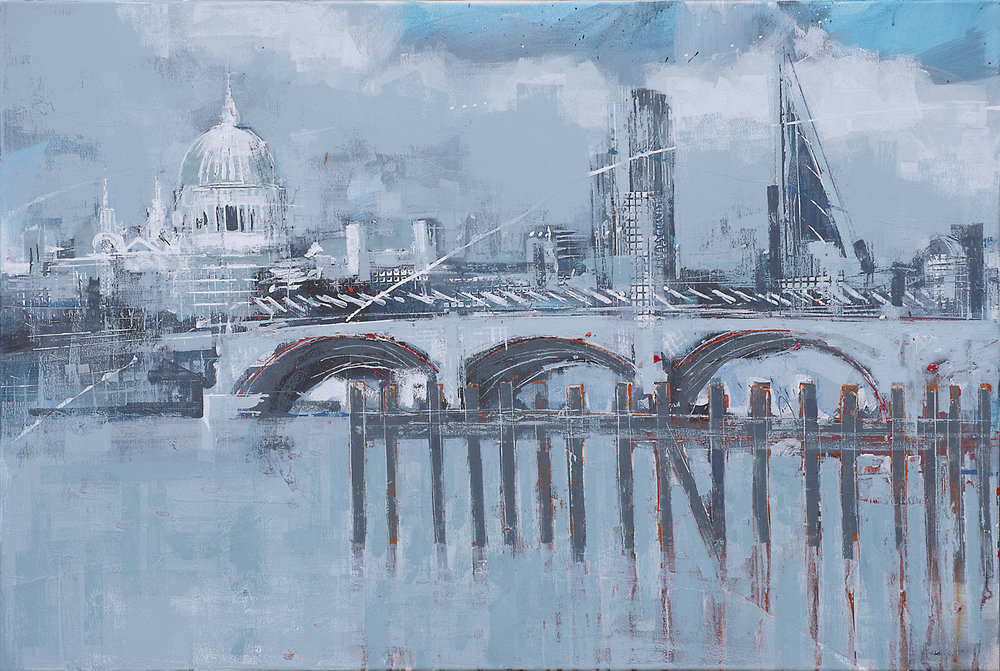 Blue St Pauls - sold