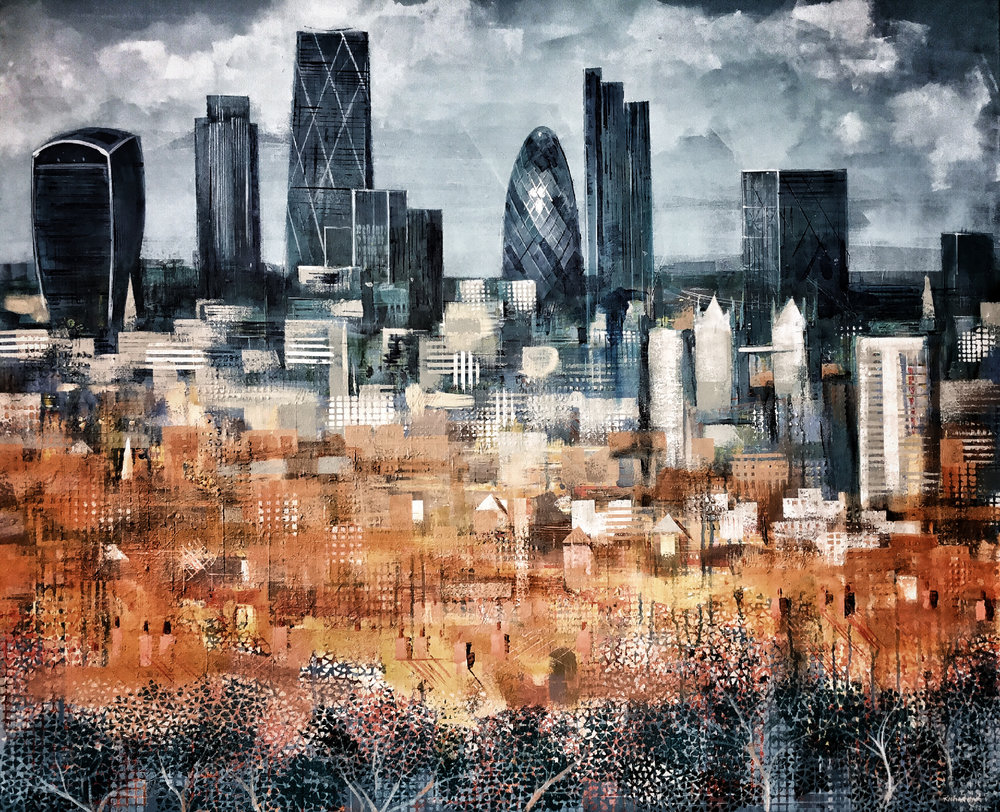 the City from north Dulwich - sold